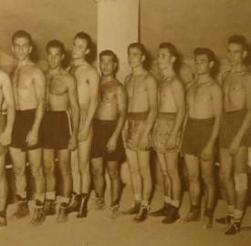 Η ιστορική πυγμαχική ομάδα του 1950