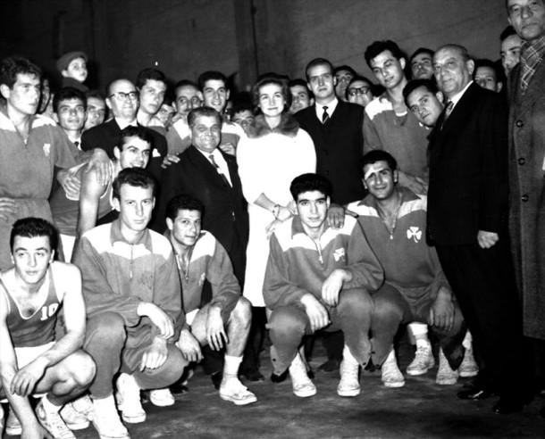 Αγώνας άλλης εποχής 20-1-1963, Παναθηναϊκός-Ρεάλ Μ.