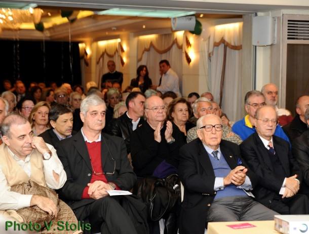Τάκης Οικονομόπουλος, Γιώργος Κατσαρός, Αχιλλέας Μακρόπουλος, Θανάσης Γιαννακόπουλος