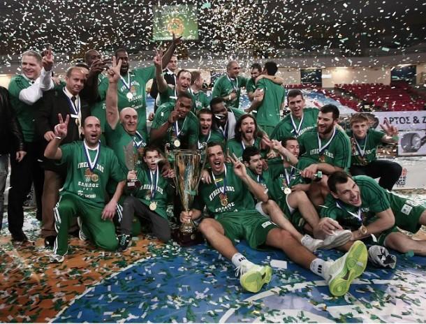 Παναθηναϊκός Κυπελλούχος Ελλάδος 2013