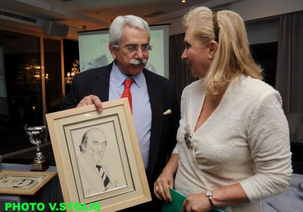 Γιώργος Ψαρρόπουλος, Ειρήνη Μαντζαβελάκη-Βασιλοπούλου