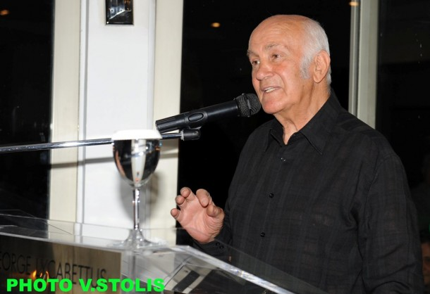 Ο βραβευθείς Τάκης Λουκανίδης