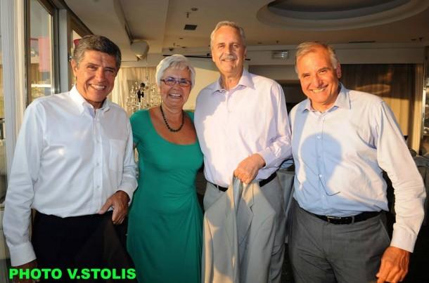 Πέτρος Πομόνης, Μαίρη Λομβάρδου-Ζούλα, Απόστολος Κόντος, Μανώλης Λεκάκης