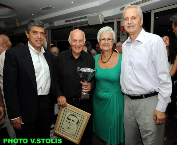 Πέτρος Πομόνης, Τάκης Λουκανίδης, Μαίρη Λομβάρδου-Ζούλα, Απόστολος Κόντος